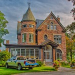 Brockville Ontario - Canada -  Kate & Charles COSSITT House -- 165 King St. E.   - Architecture Victorian thumbnail