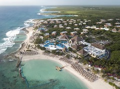 Dream Spot (Brook-Ward) Tags: hdr brook ward dream spot resort hotel tulum mexico travel holiday vacation aerial drone dji cancun water sea ocean caribbean beach sand pool