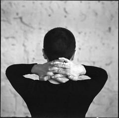 Ксения (Natasha Buzina) Tags: portrait studio noface bw blackandwhite mediumformat pentaconsix пленка портрет