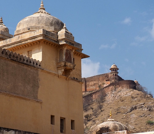 Amber Fort heights