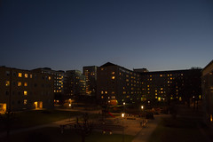 Evening (Rudi Pauwels) Tags: 2019 goteborg sveroge evening handheld lights bluesky