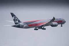 Etihad Airways / Boeing 787-9 / A6-BLV (schmidli123) Tags: zrh zurichairport zrhairport heliport boeing boeinglovers 787 dreamliner etihad etihadairways f1 a6blv formula1