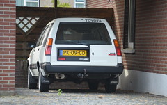 1986 Toyota Tercel Station PK-09-GD (Stollie1) Tags: 1986 toyota tercel station pk09gd gennep