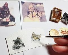 Minikitten für #wandklexschmuck 😍 #wandklex #malerei #handgemalt #aquarell #watercolor #watercolour #tier #tierportrait #petportrait #auftragskunst #custompaint #comission #painting #kitten #workinprogress #etsy #etsyde #etsyseller #etsyfinds # (wandklex Ingrid Heuser freischaffende Künstlerin) Tags: ifttt instagram wandklex ingrid hesuer art kunst etsyda dawandada etsyseller dawandaseller watercolor watercolour meetthemaker behindthescenes kunstatelier artwork malerei artist etsyfinds etsygifts etsyfindes dawandafinds aqaurell