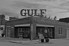 GULF (slammerking) Tags: gulf gasstation sapulpaoklahoma vintage restored route66