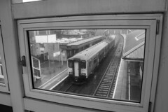 Photo of Through the bridge window at Bridgend