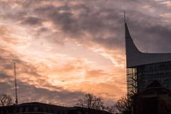 Break in the Clouds (jameslf) Tags: berkshire blade buildings city dawn forbury gardens morning reading sunrise town winter