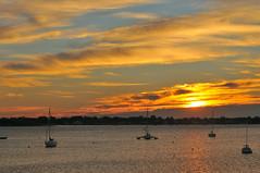 New Opportunities (Lojones13) Tags: bay harbor eastchester highclouds sunrise bluesky morning serenity boats bronx newyorkcity calm