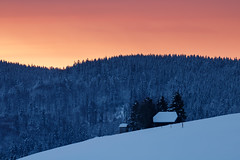 20170211-Canon EOS 750D-2032 (Bartek Rozanski) Tags: hofsgrund badenwurttemberg germany deutschland winter blackforest schwarzwald hut mountains snow sunrise farm