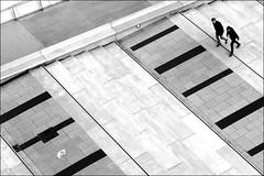 walking the streets of a former  hell (bostankorkulugu) Tags: geometry europe deutschland bw bostankorkulugu bostanci bostan blackwhite blackandwhite monochrome hansestadt hanseatic elbphilharmonie platzderdeutscheneinheit hamburg germany square friends couple men graphism