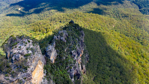 The Third of the Three Sisters Blue Mountains