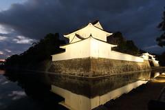 Night in Kyoto (Teruhide Tomori) Tags: 元離宮二条城 夜景 京都 日本 古城 二条城 ライトアップ kyoto japan japon nijocastle night light happyplanet asiafavorites