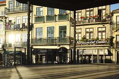 Warm light, cold day #portugal #porto #street #t3mujinpack (t3mujin) Tags: building street urban architecture porto theme window city clerigos oporto portugal dourolitoral europe facade t3mujinpack
