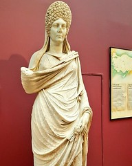 Statue of a woman, Aphrodisias Ancient City, Roman Period, 2nd. Cen. AD., İstanbul Archaeological Museums. (ancient pix) Tags: ancient history ancienthistory photo photography culture art arts archaeology archeology