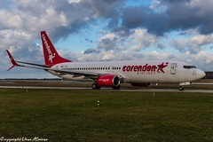 Corendon Airlines TC-TJS (U. Heinze) Tags: aircraft airlines airways airplane planespotting plane haj hannoverlangenhagenairporthaj eddv flugzeug nikon nikon28300mm d610