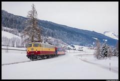 AKE E10 1309, Radstadt 30-12-2017 (Henk Zwoferink) Tags: alpenexpress ae railexperts bahntouristikexpress bte henkzwoferink e101309 ake smartrail schwemmbergsalzburgaustriaat