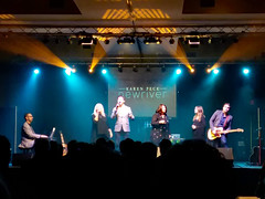Karen Peck And New River Tuesday Night. (dccradio) Tags: myrtlebeach sc southcarolina horrycounty inside indoor indoors crownreef crownreefresort crownreefconferencecenter thejoyretreat joyretreat karenpeckandnewriver karenpeck karenpecknewriver concert live livemusic liveperformance southerngospel music inconcert liveconcert stage lights stagelights mic microphone february winter tuesday tuesdaynight tuesdayevening evening samsung galaxy smj727v j7v cellphone cellphonepicture