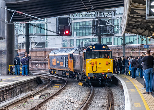50049 Defiance 50007 Hercules GBRf London Paddington 23.03.19