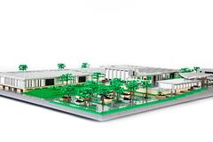 Rosenthal (BrickFabrik) Tags: lego porcelain rosenthal gropius bauhaus rotbühl architecture
