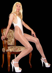 0115 (Youko_Kishida) Tags: fetish crossdresser tgirl leotard crossdressing pantyhose stocking tights lycra