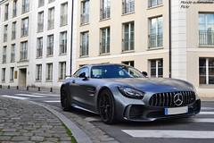 Mercedes AMG GTR (Monde-Auto Passion Photos) Tags: voiture vehicule auto automobile mercedes amg gtr coupé gris grey mat sportive supercar rare rareté france fontainebleau