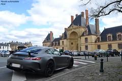 Mercedes AMG GTR (Monde-Auto Passion Photos) Tags: voiture vehicule auto automobile mercedes amg gtr coupé gris grey sportive supercar rare rareté france fon fontainebleau