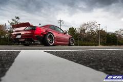 AITO NET Nissan Silvia on WORK Emotion CR2P (WORK Wheels Japan) Tags: work workwheels wheels aitonet nissan s15 silvia emotion cr2p
