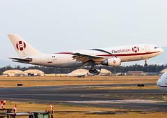 XA-FPP Aero Union A302F (twomphotos) Tags: plane spotting mmmx mex evening sunset 23r 23l rwy aerounion freight airbus a302 a302f landing bestofspotting