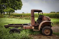 On The Farm (HTT) (13skies) Tags: blitzwagon truckthursday singleshothdr earm barn truck old rusted tire sitting grass htt canon cool happytruckthursday