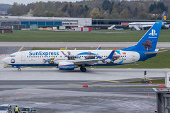 TC-SNN (Kilian Feßler) Tags: hamburgairport b737800 b737 boeing sunexpress