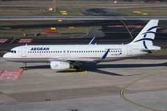 A320 SX-DNE 160219 (Nik Deblauwe) Tags: dus eddl düsseldorfairport february 2019