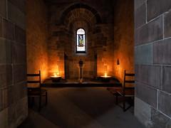 Kerzenschein (Paramedix) Tags: schaffhausen kloster monastery schweiz switzerland kirche church kerzen candles