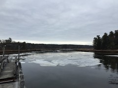 moving at-one With the Flow (77ahavah77) Tags: water river tide ice moving movement ease peace maine outside nature sky winter