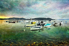The lagoon... (monazimba) Tags: lagoon fishing boats sea mediterranean seascape