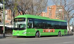 Madrid, Avenida de las Águilas 03.01.2019 (The STB) Tags: crtm consorcioregionaldetransportesdemadrid madrid bus autobus autobús busse publictransport citytransport öpnv transportepúblico