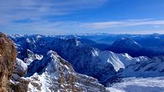 Grainau - Mountain View (cnmark) Tags: deutschland germany bayern bavaria grainau zugspitze gipfel summit snow ice landscape alps alpen sky ©allrightsreserved