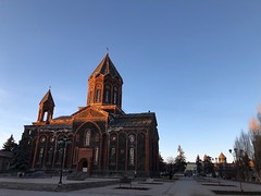 Holy Saviour Church (Alexanyan) Tags: գյումրի gyumri church eglise kirche chiesa armenian apostolic orthodox christian սուրբ ամենափրկիչ եկեղեցի shirak region earthquake symbol rebuilt վերակառուցված armenia hayastan հայաստան ani cathedral vartanants square վարդանանց հրապարակ անի մայր տաճար
