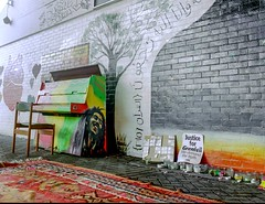COMMUNITY PIANO - UNDER THE WESTWAY (Steve Mepsted) Tags: grenfell community westway westwayflyover westeleven project