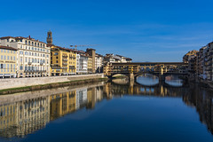 Arno River (Thomas Huston) Tags: italy florence river arno water reflection blue