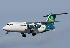 Aer Lingus                           British Aerospace RJ85                                      EI-RJI (Flame1958) Tags: aerlingus aerlingusrj85 aerlingusnewlivery cityjet rj85 cityjetrj85 eirji 130319 0319 2019 dub eide dublinairport britishaerospace avro baerj85 avrorj85 bae146 avro146 whisperliner 1239a