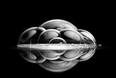 La formación de un nuevo mundo III (Osruha) Tags: burbujas bombolles bubbles creatividad creativitat creative blancoynegro blancinegre blackandwhite bw bn bnw nikon nikonistas nikond750 d750