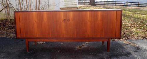 Danish Style Sideboard/Credenza with Tamboor Doors ($1,904.00)