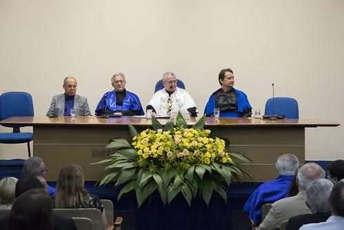 Entrega do título de Professor Emérito ao Prof. Antonio Eurico Belo Torres | Foto: Ribamar Neto