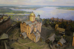 Museum of History of St. Michael's Monastery - 12th century (B℮n) Tags: київ kyiv kiev ukraine киев kiëv oekraïne dnjepr dnipro hidropark viewpoint historical treasures river green park bridge rusanivskastrait dnieper brovary 50faves topf50 orange revolution independence square europe centre history viktor janoekovytsj україна globus monument independencemonumentмонументнезалежності монументнезалежності ukrainehotel готель готельукраїна євромайдан ❤ blue yellow flag соборсвятоїсофії софійськийсобор national sanctuary holy cathedral complex landmark ukrainian baroque architecture heritage seven wonders unescoworldheritage михайлівськийзолотоверхиймонастир saintmichael goldendomedcathedral goldendomed domes gold golden religious maquette miniature диорама12ст 12thcentury 100faves topf100