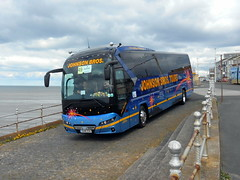 OU18 ZSE, Neoplan Tourliner (miledorcha) Tags: neoplan tourliner n2216 n2216shdc man diesel rear engined integral coach coaches johnson bros tours worksop ou18zse new uk blackpool 2018 coachrally psv pcv luxury travel holidays rally