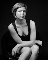 Julia 1 (Vitaly_S) Tags: smcp6790mmf28 120 67 679028 delta100 mf p67ii pentax67 пленка film mediumformat portrait портрет