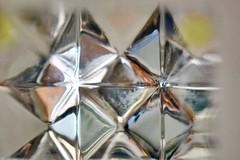 Looking Up (helensaarinen) Tags: macro rhombus geometric abstract glass lookup macromondays