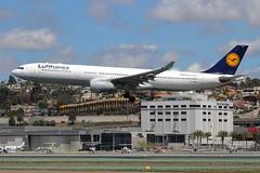 Lufthansa (So Cal Metro) Tags: airline airliner airplane aircraft plane jet aviation airport san sandiego lindberghfield lufthansa airbus a330 jumbo jumbojet daikp