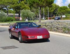 CHEVROLET Corvette C4 Coupé - 1992 (SASSAchris) Tags: chevrolet corvette c4 coupé 2 tours dhorloge castellet circuit ricard voiture américaine