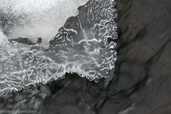 Study of ice (aixcracker) Tags: nikond800 nikon 200mm f4d micro is ice jää water vatten vesi ilby ilola porvoo borgå suomi finland december joulukuu winter vinter talvi